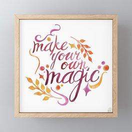 Make Your Own Magic Framed Mini Art Print