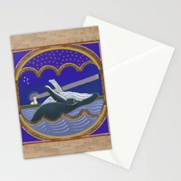 Square Whale Jervis Bay Book of Hours Stationery Cards