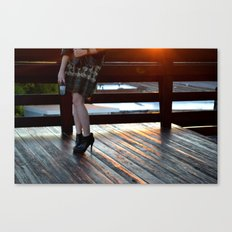 The First Last Day Canvas Print