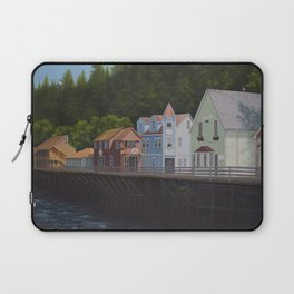 Ketchikan's Creek Street Laptop Sleeve