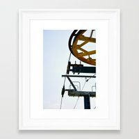ski Framed Art Prints featuring Ski by radiantlee