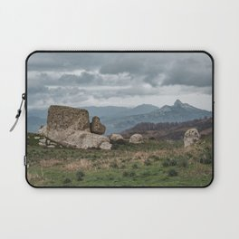 Point of view from Sicilian mountains Laptop Sleeve