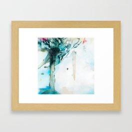 Blue Vapor Framed Art Print