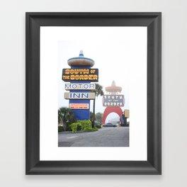 South of the Border: Fog Framed Art Print