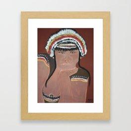 Tribal Women Framed Art Print