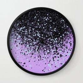 Mermaid Summer Vibes Glitter #2 #shiny #decor #art #society6 Wall Clock