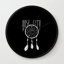 Rose City Wall Clock