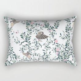 The Singing Birds Rectangular Pillow