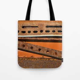 Orange Angle Tote Bag
