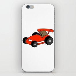 Cartoon Go-Kart iPhone Skin