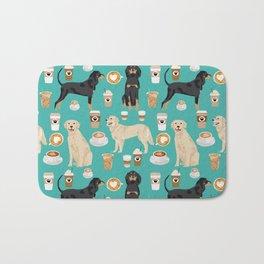 Golden Retriever and Coonhound design Bath Mat