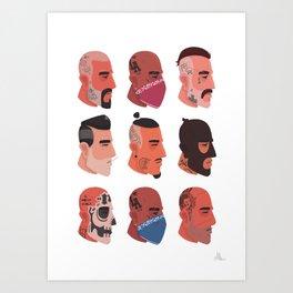 'Crooks' Art Print