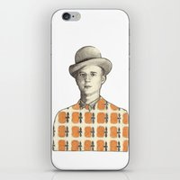 robert farkas iPhone & iPod Skins featuring Robert by Rins