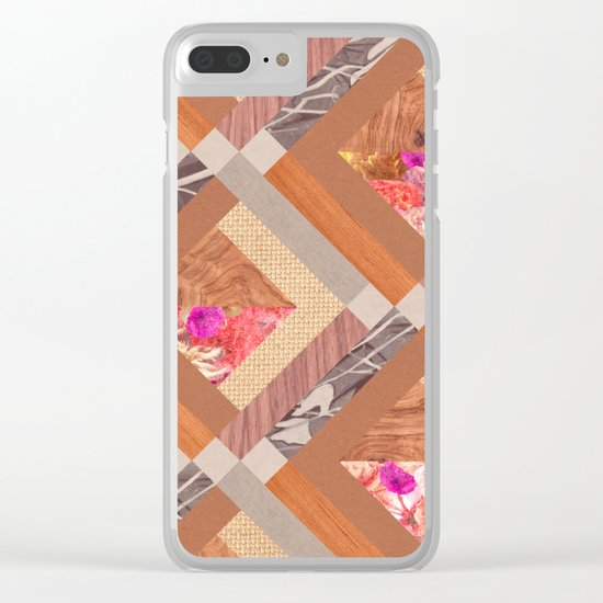 Cubed Clear iPhone Case