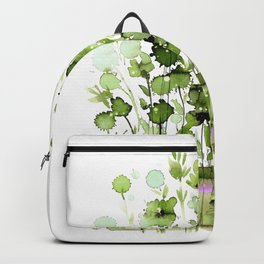 Floral Charm No.1I by Kathy Morton Stanion Backpack