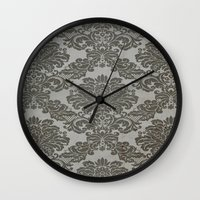 victorian Wall Clocks featuring Victorian by Tania Joy