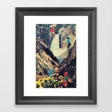 coffee buzz Framed Art Print