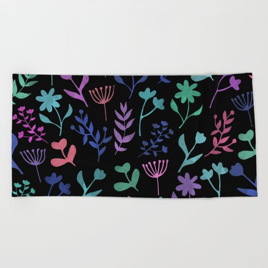 Lovely Pattern XI Beach Towel