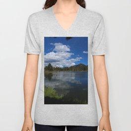Sprague Lake Reflection Unisex V-Neck