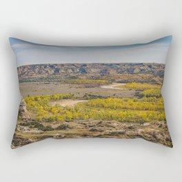 Badlands, Theodore Roosevelt NP, ND 5 Rectangular Pillow