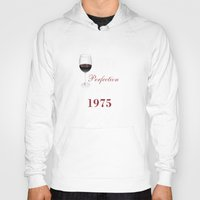 1975 Hoodies featuring Aged To Perfection 1975 by sophiafashion