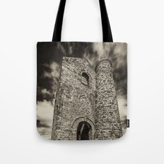 Cripplesease Engine House in Mono Tote Bag