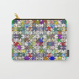 Jigsaw junkie Carry-All Pouch