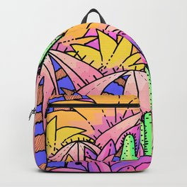 Cactus jungle Backpack