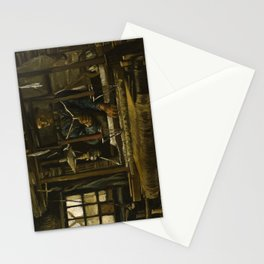 A Weaver's Cottage by Vincent van Gogh, 1884 Stationery Cards