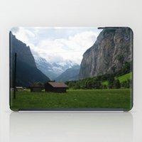 switzerland iPad Cases featuring Switzerland (Travel) by Laura Vaisman