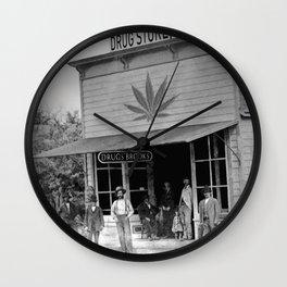 Drug Store #1 Wall Clock