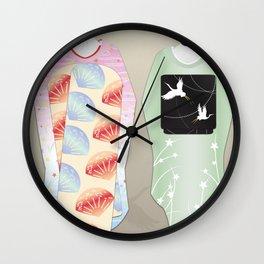 Geisha Maiko Summer Wall Clock