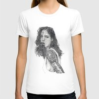 tattoos T-shirts featuring Lust & Tattoos by Art & Ink