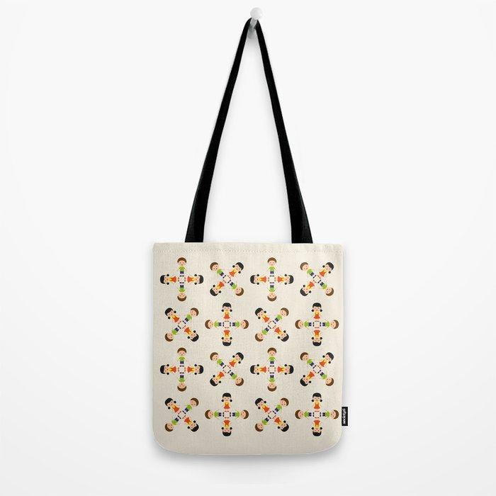 Children pattern Tote Bag