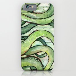 Cthulhu Green Tentacles iPhone Case
