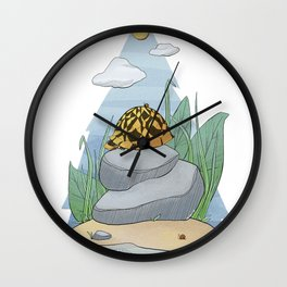 A Turtle's Time Wall Clock