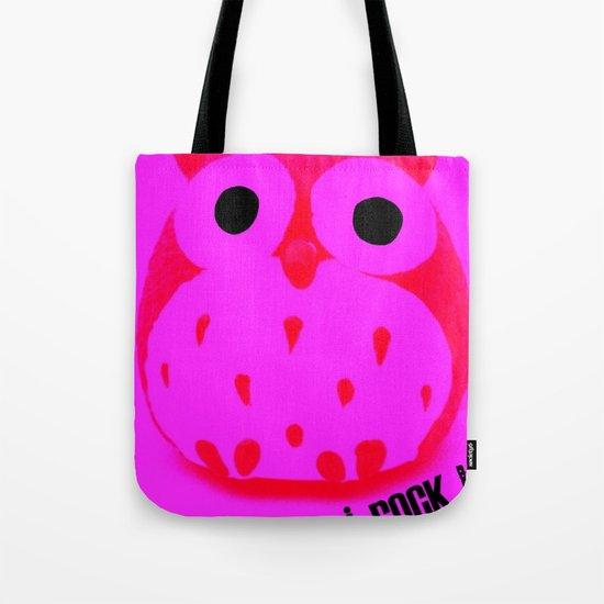 Owl ROCK! Tote Bag