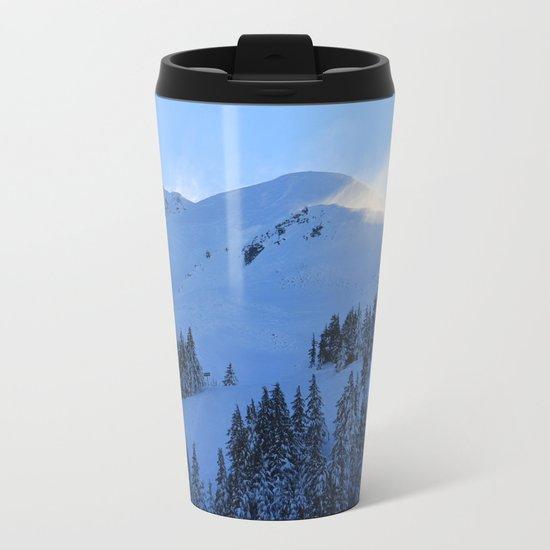 Ghosts In The Snow Metal Travel Mug