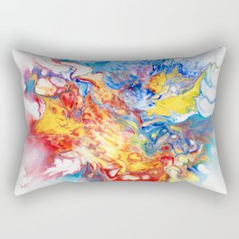 The Butterfly Deva Rectangular Pillow
