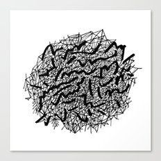 Modern Lace Canvas Print