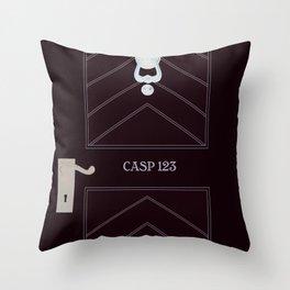 CASP 123 Throw Pillow