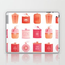 Flask Collection – Pink/Peach Ombré Palette Laptop & iPad Skin