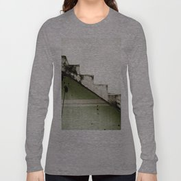 Two-tone Stairs Long Sleeve T-shirt