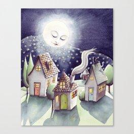 Mother Moon Canvas Print