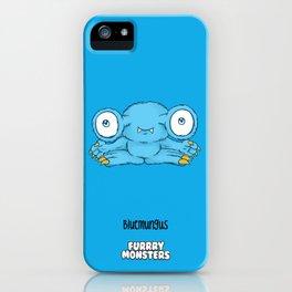 Bluemungus iPhone Case