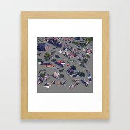 oOOooOoOoooOoooo Framed Art Print