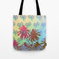 california Tote Bags featuring CALIFORNIA by DIVIDUS
