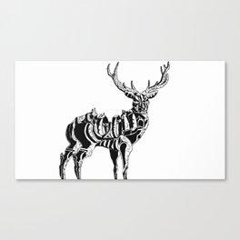 Mecha deer Canvas Print