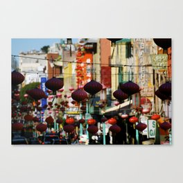 China Town, San Francisco, CA Canvas Print