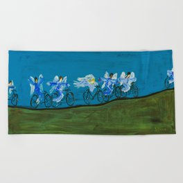 Angels Day Out Beach Towel